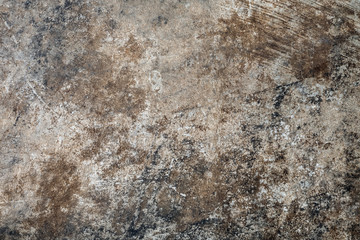 Stain on old cement texture