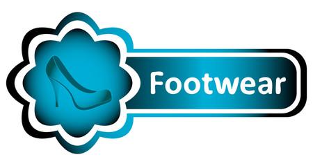 Double icon blue woman footwear