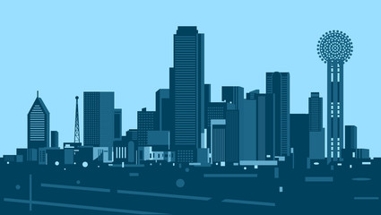 Wall Mural - Dallas skyline
