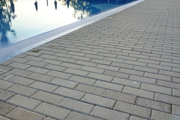 Poolside surface