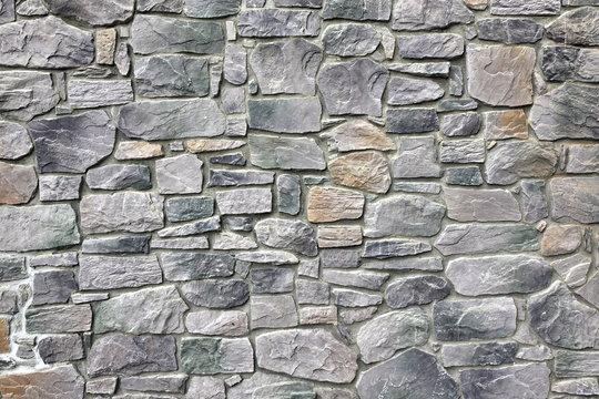 Modern Stonewall Backround Texture Decorated With Multicolored N