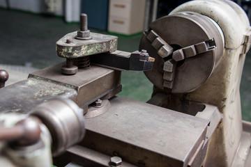 drilling machine close up