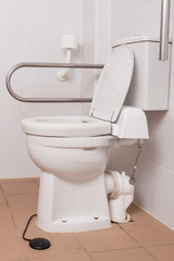 toilet for people with disabilities