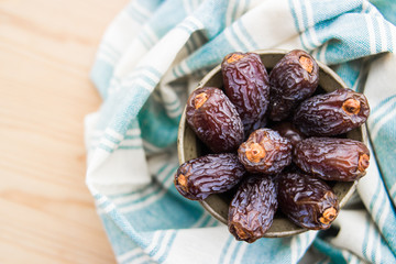Dried Date fruit / Medjool / Ramadan food.