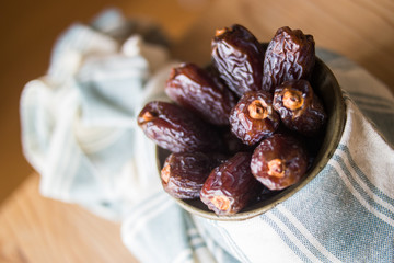 Dried Date fruit / Medjool / Ramadan food.