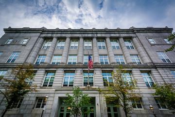 Charlestown High School, in Bunker Hill, Charlestown, Boston, Ma