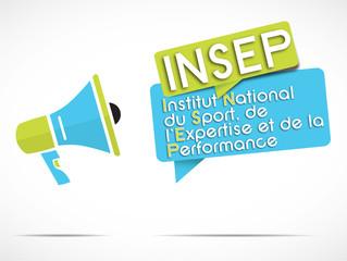 mégaphone : INSEP