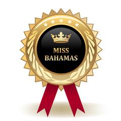 Miss Bahamas Award