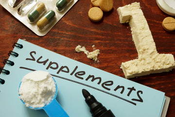 Sport Supplements for bodybuilding in pills, tablets and number one from protein.