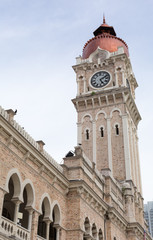 Clock tower of Sultan Abdul Samad Building
