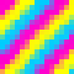 Pansexuality Pixelated Background