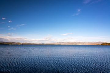 Yellowstone Lake Landscape