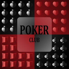 Logo for the poker club