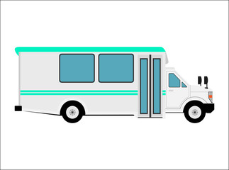 小型のバス