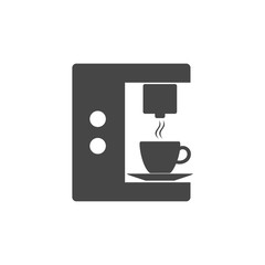 Coffee maker machine simple icon, Coffee maker icon