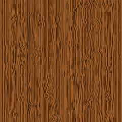 Brown wooden texture. Vector illustration