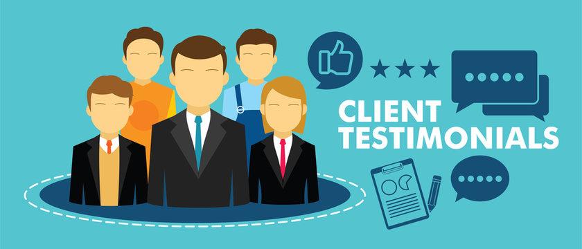 client testimonial feedback