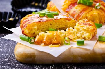 Baked vegetable cutlet