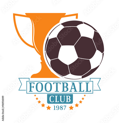 Soccer Football Badge Logo Design Templates Sport Team Identity