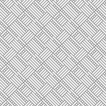 Vector gray seamless abstract flooring pattern