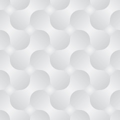 Simple geometric vector pattern - abstract shapes with gray grad