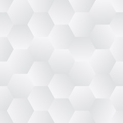 Seamless Tile of Tessellated Hexagons with Randomized Grayscale