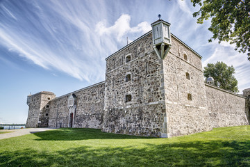 Photo sur Aluminium Fortification Fort Chambly, a national historic site in Quebec, Canada.
