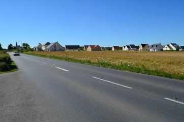 Paysage de la plaine de Caen (Région de Bourguébus - Calvados)