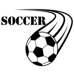 Футбол, логотип футбольный мяч
