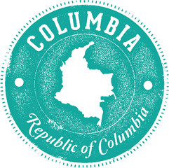 Country of Columbia South America