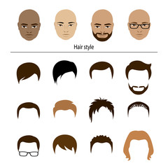 male stylish templates hairstyles