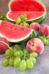 sweet summer fruits