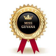 Miss Guyana Award