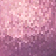 Pink honeycomb background illustration