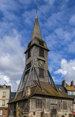 Bell tower, Honfleur