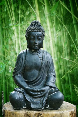 Buddha Im Garten Stock Photo And Royalty Free Images On Fotolia Com