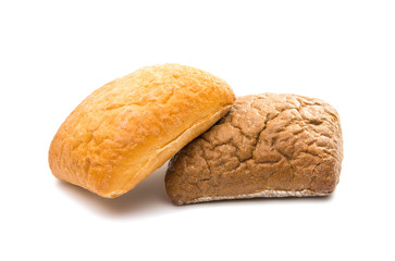 Ciabatta, Italian bread isolated