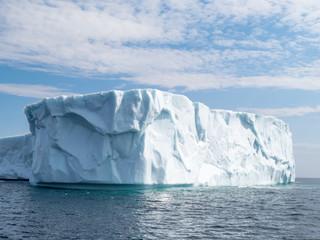 Large iceberg in June run aground near St. Anthony's Newfoundland