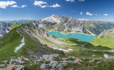 Fototapete - Sommer in den Alpen