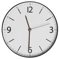 clock face isolated