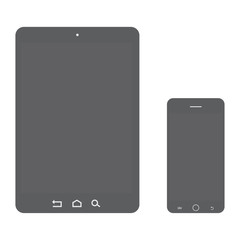 Vector smartphone and tablet
