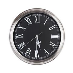 Half past five o'clock