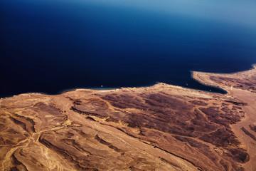 Desert with sea