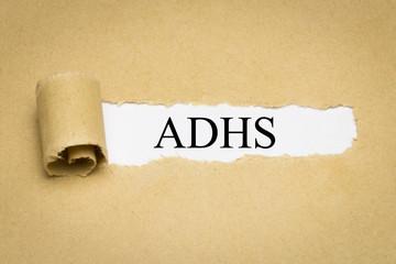 ADHS Aufmerksamkeitsdefizit-Hyperaktivitätsstörung