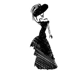 female vector fashion