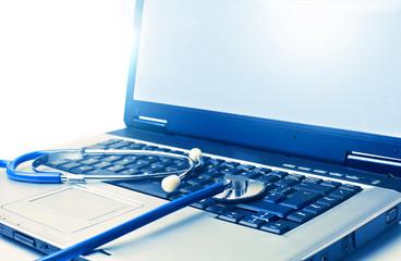 Doctor's laptop
