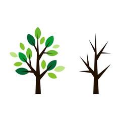 Abstract Tree Logo Template v.2