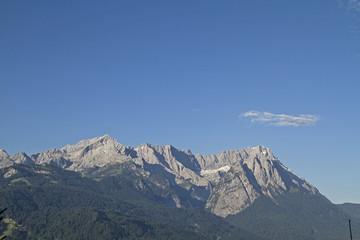 Wettersteingebirge mit Zugspitze