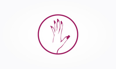 logo onglerie gratuit