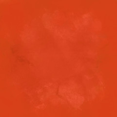 Abstract orange background watercolor paint texture